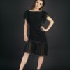 Mathilde-Meinier-Midnight-face-Robe-col-bateau-soie-Manches-bas-robe-tulle
